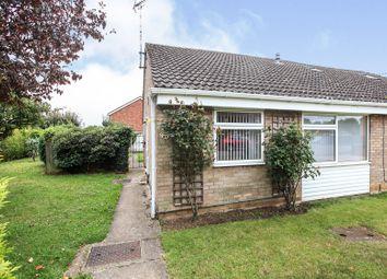 Thumbnail 2 bed semi-detached bungalow for sale in Deer Park Road, Langtoft, Peterborough