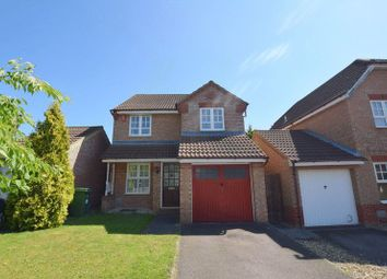 Thumbnail 3 bed detached house for sale in Wardle Place, Oldbrook, Milton Keynes