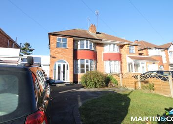 Thumbnail 3 bed semi-detached house to rent in Wells Green Road, Solihull