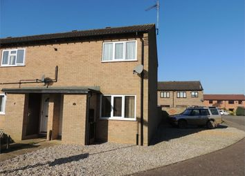 Thumbnail 2 bedroom end terrace house for sale in Launditch Crescent, Downham Market