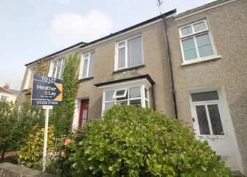 Thumbnail 2 bed flat to rent in Belmont Road, Falmouth