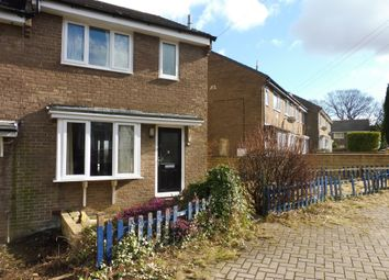 Thumbnail 3 bedroom end terrace house for sale in Thanes Close, Birkby, Huddersfield