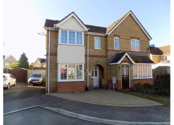 Thumbnail 3 bed semi-detached house for sale in Yeates Drive, Sittingbourne
