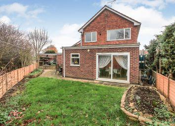Thumbnail 3 bed detached house for sale in Oak Road, Glinton, Peterborough