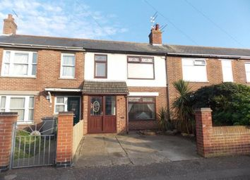 Thumbnail 3 bed terraced house for sale in Great Yarmouth, Norfolk, .