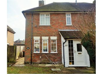 Thumbnail 3 bed semi-detached bungalow to rent in Worthington Road, Dunstable