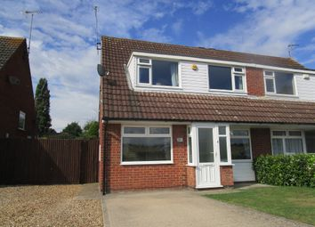 Thumbnail 4 bed semi-detached house for sale in Willow Crescent, Market Harborough
