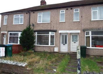Thumbnail 3 bed terraced house for sale in Capmartin Road, Coventry, West Midlands