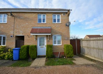 Thumbnail 2 bed end terrace house to rent in Willowbrook Close, Carlton Colville, Lowestoft, Suffolk