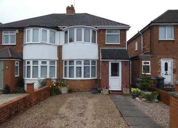 Thumbnail 3 bed semi-detached house for sale in Benedon Road, Sheldon, Birmingham