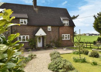 Thumbnail 4 bed semi-detached house for sale in Avebury Trusloe, Avebury, Marlborough