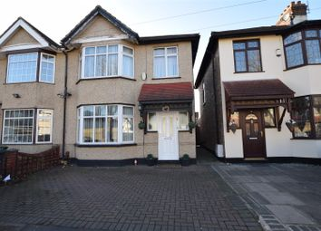 Thumbnail 3 bed semi-detached house for sale in Beresford Gardens, Chadwell Heath, Romford