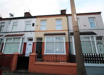 Thumbnail 3 bed terraced house to rent in Woodhey Road, Aigburth