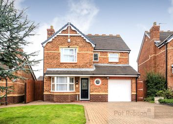 Thumbnail 4 bed detached house for sale in Clousden Grange, Forest Hall, Newcastle Upon Tyne