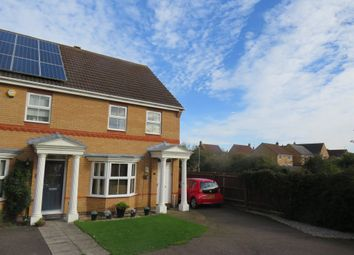 Thumbnail 3 bed semi-detached house for sale in Woodgate Road, Wootton, Northampton