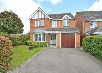 Thumbnail 4 bedroom detached house for sale in Woodgate Road, Wootton, Northampton
