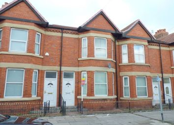 Thumbnail 3 bed terraced house to rent in Claughton Road, Birkenhead
