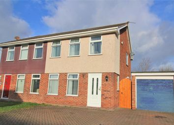 Thumbnail 3 bed semi-detached house for sale in Marlston Avenue, Irby, Wirral