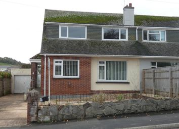 Thumbnail 3 bed bungalow to rent in Cross Park, Brixham