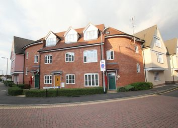 Thumbnail 2 bed flat for sale in Weavers Close, Dunmow, Essex