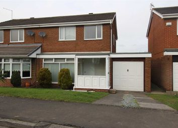 Thumbnail 3 bed semi-detached house for sale in Nairn Road, Parkside Chase, Cramlington