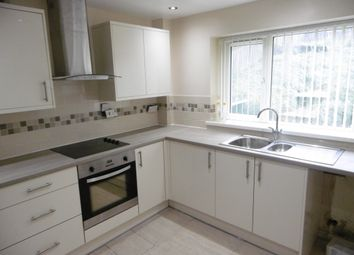 Thumbnail 3 bed town house to rent in Haslam Court, Bolsover, Chesterfield