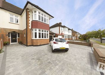 Thumbnail 3 bed semi-detached house for sale in Parkland Avenue, Upminster
