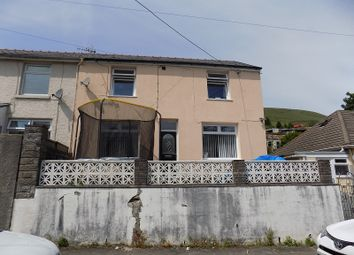 Thumbnail 4 bed semi-detached house for sale in Moira Terrace, Ogmore Vale, Bridgend.