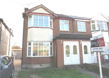 Thumbnail 3 bed semi-detached house to rent in Bilton Road, Perivale