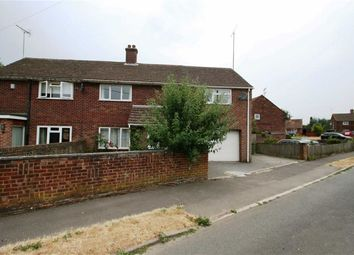 Thumbnail 3 bed semi-detached house to rent in Mant Close, Wickham, Newbury