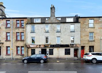 Thumbnail 1 bed flat for sale in Love Street, Paisley