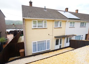 Thumbnail 3 bed end terrace house for sale in Holly Road, Risca, Newport
