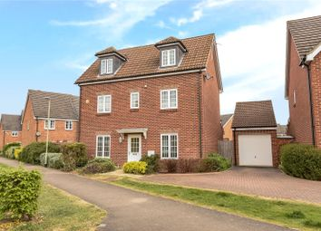 Thumbnail 4 bed detached house for sale in Jersey Drive, Winnersh, Berkshire