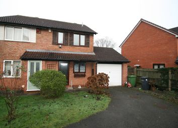 Thumbnail 2 bed semi-detached house to rent in Highdown Crescent, Shirley, Solihull