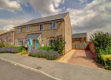 Thumbnail 3 bed semi-detached house for sale in Mary Rose, Brooklands, Milton Keynes