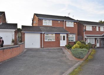 Thumbnail 4 bed detached house for sale in Merlin Avenue, Poplar Farm, Nuneaton