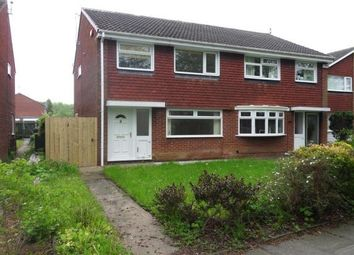 Thumbnail 3 bed semi-detached house to rent in Ascot Walk, Kingston Park, Newcastle Upon Tyne