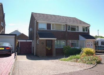 Thumbnail 3 bedroom semi-detached house for sale in Lowick Court, Moulton, Northampton
