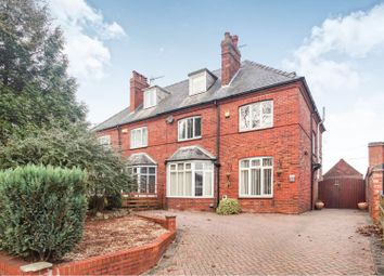 Thumbnail 4 bed semi-detached house for sale in Yarborough Crescent, Lincoln