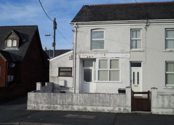 Thumbnail 2 bed semi-detached house to rent in Brecon Road, Ystradgynlais, Swansea