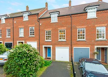 Thumbnail 4 bed terraced house for sale in Newmarket Court, Goldsmith Way, St. Albans, Hertfordshire
