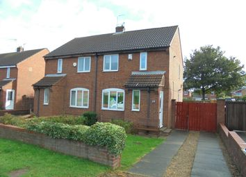 Thumbnail 2 bed semi-detached house to rent in Larkswood Road, Redcar