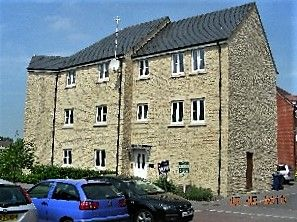 Thumbnail 1 bed flat to rent in Oake Woods, Station Road, Gillingham, Dorset