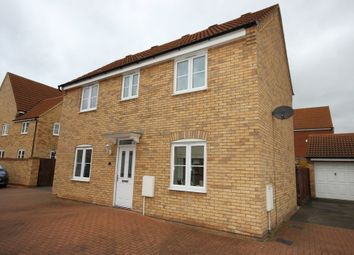 Thumbnail 3 bed detached house for sale in Silverburn Close, Bedford