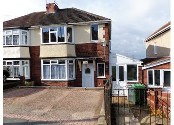 Thumbnail 3 bed semi-detached house for sale in Highmoor Road, Rowley Regis