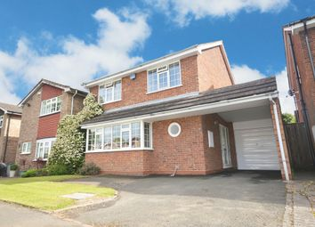 Thumbnail 4 bed detached house for sale in Tackley Close, Shirley, Solihull