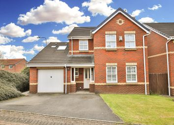 Thumbnail 5 bed detached house for sale in Clos Rhiannon, Thornhill, Cardiff
