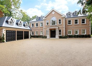 Thumbnail 7 bedroom detached house for sale in Onslow Road, Hersham, Walton-On-Thames, Surrey