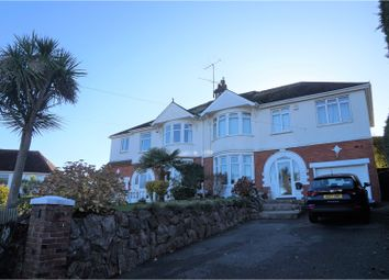 Thumbnail 5 bed semi-detached house for sale in Osney Avenue, Paignton