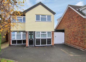 Thumbnail 3 bed detached house for sale in Ashfield Drive, Moira, Near Ashby